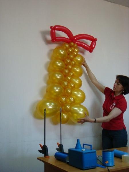 Как гирлянда из шаров своими руками